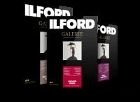 Ilford Galerie Prestige Papiermuster bedruckt, DIN A4 (21x29,7 cm), in Ordner