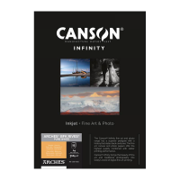 Canson Infinity Arches BFK Rives Pure White 310g -  A2 420x594mm 25 Blatt