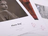 Hahnemühle Photo Rag, DIN A2, 25 Blatt, mit gerissenem Büttenrand