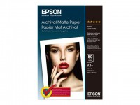 Epson Archival Matte Photo Paper 192g - A3 Box - 50 Blatt
