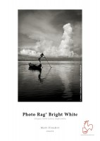 "Hahnemühle Photo Rag Bright White 310g - 3""Core - 17""Rolle x 12m"