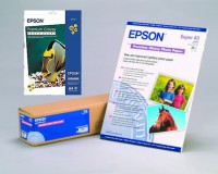 Epson Premium Photo Glossy Paper 255g - A2 Box - 25 Blatt