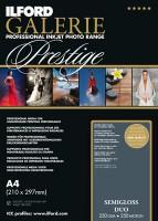 Ilford Galerie Prestige Smooth Semigloss Duo 250 g/m², A4, 25 Blatt