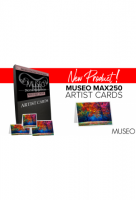 Museo MAX250 Artist Cards, 3.875x9,125 inch (9,84x23,17cm), Panorama, 25 Stk.