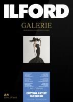 Ilford Galerie Prestige Cotton Artist Textured 310 g/m², DIN A4 (21x29,7 cm), 25 Blatt