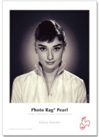 "Hahnemühle Photo Rag Pearl 320g - 3""core - 17""Rolle X 12m"