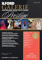 Ilford Galerie Prestige Gold Fibre Gloss 310 g/m², DIN A3+ (32,9x48,3 cm), 25 Blatt