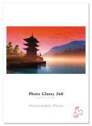 "Hahnemühle Photo Glossy 260g - 3""core - 24""Rolle x 30m"