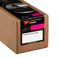 Tecco Photo PFR200 Duo FineArt Rag 200 g/m², 106,7 cm x 15 m