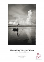 "Hahnemühle Photo Rag Bright White 310g - 3""Core - 44""Rolle x 12m"
