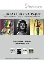 Hahnemühle Digital FineArt Papiermuster A6 bedruckt