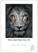 Hahnemühle Photo Matt Fibre Duo 210 g - A4 - 25 Blatt