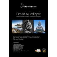 Hahnemühle Glossy FineArt Musterpack A3+