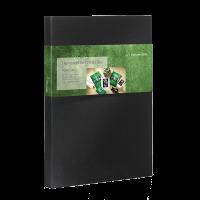 Hahnemühle Portfolio Box Natural Line Agave (Sisal) 290 g/m², DIN A3+ (32,9x48,3 cm), 50 Blatt