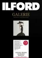 Ilford Galerie Tesuki-Washi Echizen, Warmtone, Deckle Edge 110 g/m², DIN A1+ (66x96 cm) 5 Blatt