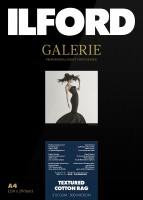 Ilford Galerie Prestige Textured Cotton Rag 310 g/m², DIN 10,2x15,2 cm, 50 Blatt