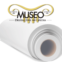 "Museo Textured Rag 325g - 50"" Rolle - 127 cm x 15,24 m"