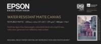 Epson Water Resistant Matte Canvas 375 g/m², 111,8 cm x 12,2 m, 1 Rolle