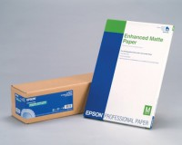 "Epson Enhanced Matte Photo Paper 189g - 44"" Rolle - 1,118x30.5m"