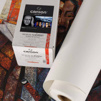 "Canson Infinity Museum Pro Canvas Matt 385g, 44"" Rolle (1.118x12m)"