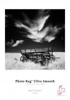 """Hahnemühle Photo Rag Ultra Smmoth - 3""""core - 44""""Rolle x 12m"""